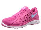 Nike Dual Fusion Run 2 (Vivid Pink/Pink Glow/White/Polarized Blue) Women's Running Shoes