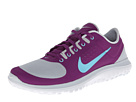 Nike - FS Lite Run (Pure Platinum/Bright Grape/White/Polarized Blue)