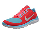 Nike - FS Lite Run (Laser Crimson/Polarized Blue/White/Metallic Silver)