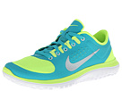 Nike - FS Lite Run (Volt/Turbo Green/White/Metallic Platinum)