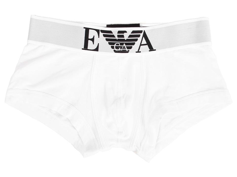 Emporio Armani - Stretch Cotton Wide Waistband Trunk