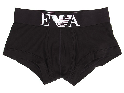 Emporio Armani Stretch Cotton Wide Waistband Trunk