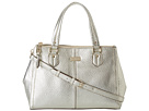 Cole Haan - Double Zip Satchel (Soft Gold) - Bags and Luggage