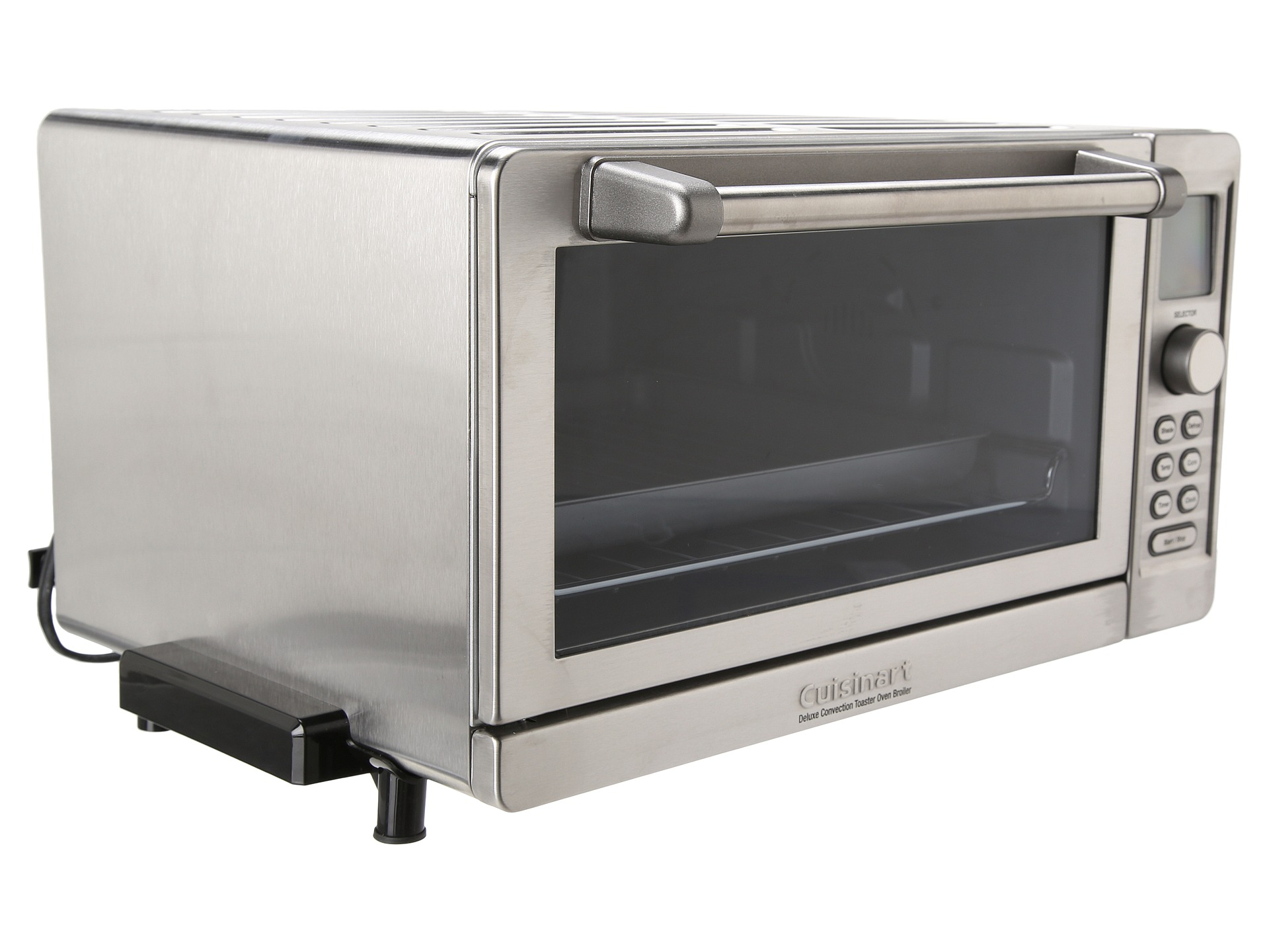 Farberware Convection Countertop Oven Stainless Steel Review : TOB-135 Deluxe Convection Toaster Oven Broiler Brushed Stainless Steel ...