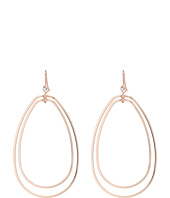 GUESS - Double Teardrop Wire Hoop Earring