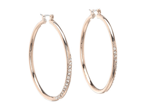 GUESS Hoop with Stones - Rose Gold/Crystal