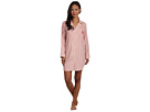 LAUREN Ralph Lauren - Town and Country L/S Classic Notch Collar Sleepshirt (Varick Stripe)