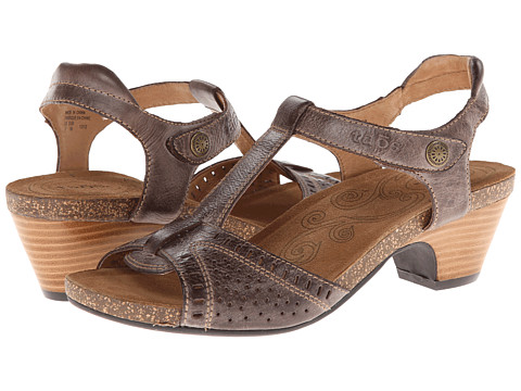 taos Footwear UnStrap Grey Flats - Products For Ladies