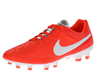 Nike - Tiempo Genio Leather FG (Total Crimson/Metallic Silver/White)