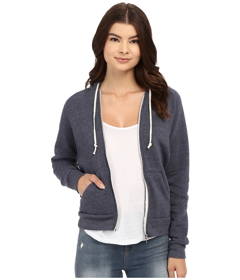 Alternative Adrian Hoodie Eco True Navy Womens Sweatshirt