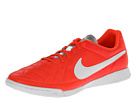 Nike - Tiempo Genio Leather IC (Total Crimson/Metallic Silver/White)
