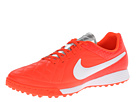 Nike - Tiempo Genio Leather TF (Total Crimson/Metallic Silver/White)