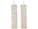 LAUREN Ralph Lauren - FW-Diamond Shape Mesh Shower Curtain (Crystal/Gold)