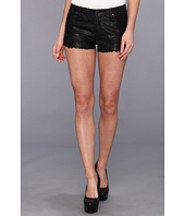 Blank NYC - Vegan Leather Detailed Short in Black