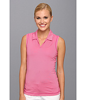 adidas Golf - Sleeveless Microstripe Polo '14