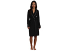 LAUREN Ralph Lauren - Essentials Quilted Collar and Cuff Robe (Black)