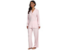 LAUREN Ralph Lauren - Hartford Lounge L/S Shawl Collar Lounge PJ Set (Ballet Pink Heather)