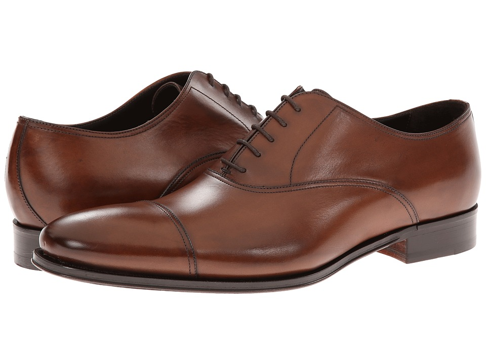 To Boot New York - Aidan (Brown) Mens Lace Up Cap Toe Shoes