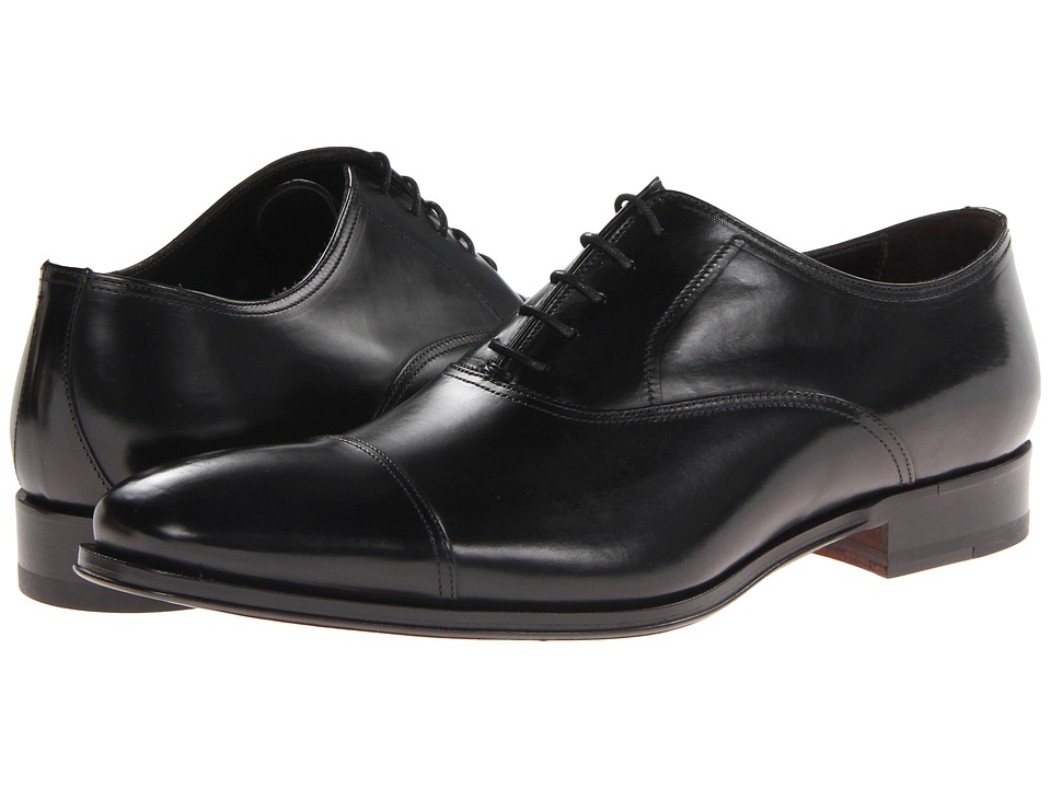 To Boot New York Aidan (Black. PLC) Men's Lace Up Cap Toe.
