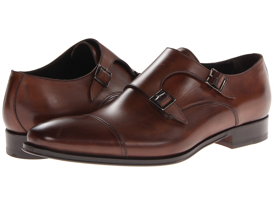 To Boot New York - Grant (Brown) Mens Monkstrap Shoes
