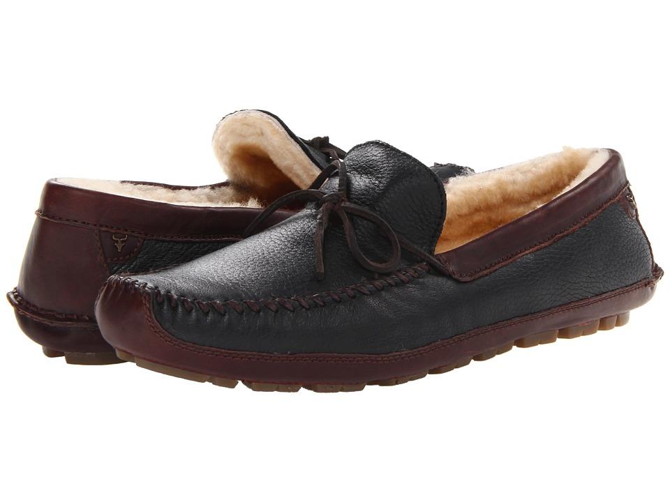 Trask - Polson (Black) Mens Slippers