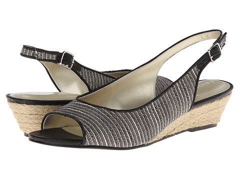 David Tate - Sunny (Black) - Footwear, wide width womens sandals, wide fitting sandal, WW