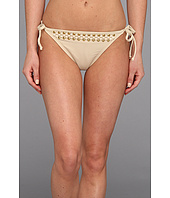 MICHAEL Michael Kors - Round Dome Solids Side Tie String Euro Bottom