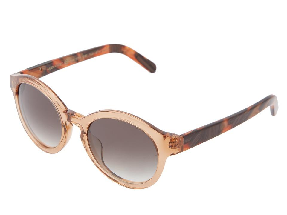 Unique Retro Vintage Style Sunglasses & Eyeglasses RAEN Optics - Flowers Crystal Rose FrontCalico Temple Sport Sunglasses $110.00 AT vintagedancer.com