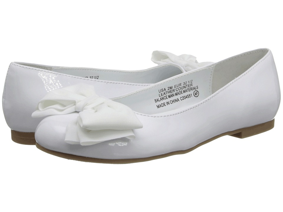 Nina Kids Danica Little Kid/Big Kid White Patent Girls Shoes