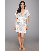 BECCA by Rebecca Virtue - Plus Size See It Through Tunic Cover-Up