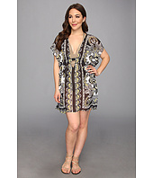 BECCA by Rebecca Virtue - Plus Size Gold Coast Tunic Cover-Up