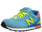New Balance Classics WL515 Light Blue Shoes