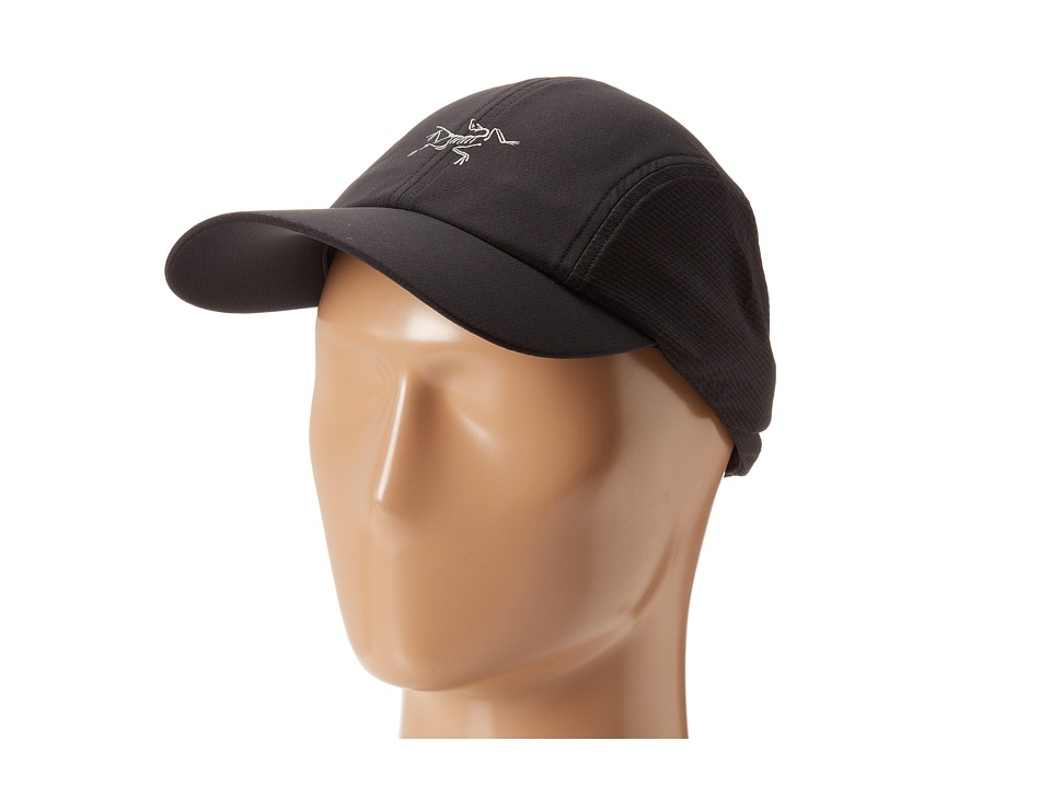 Arcteryx Accelero Cap Black/Black Baseball Caps