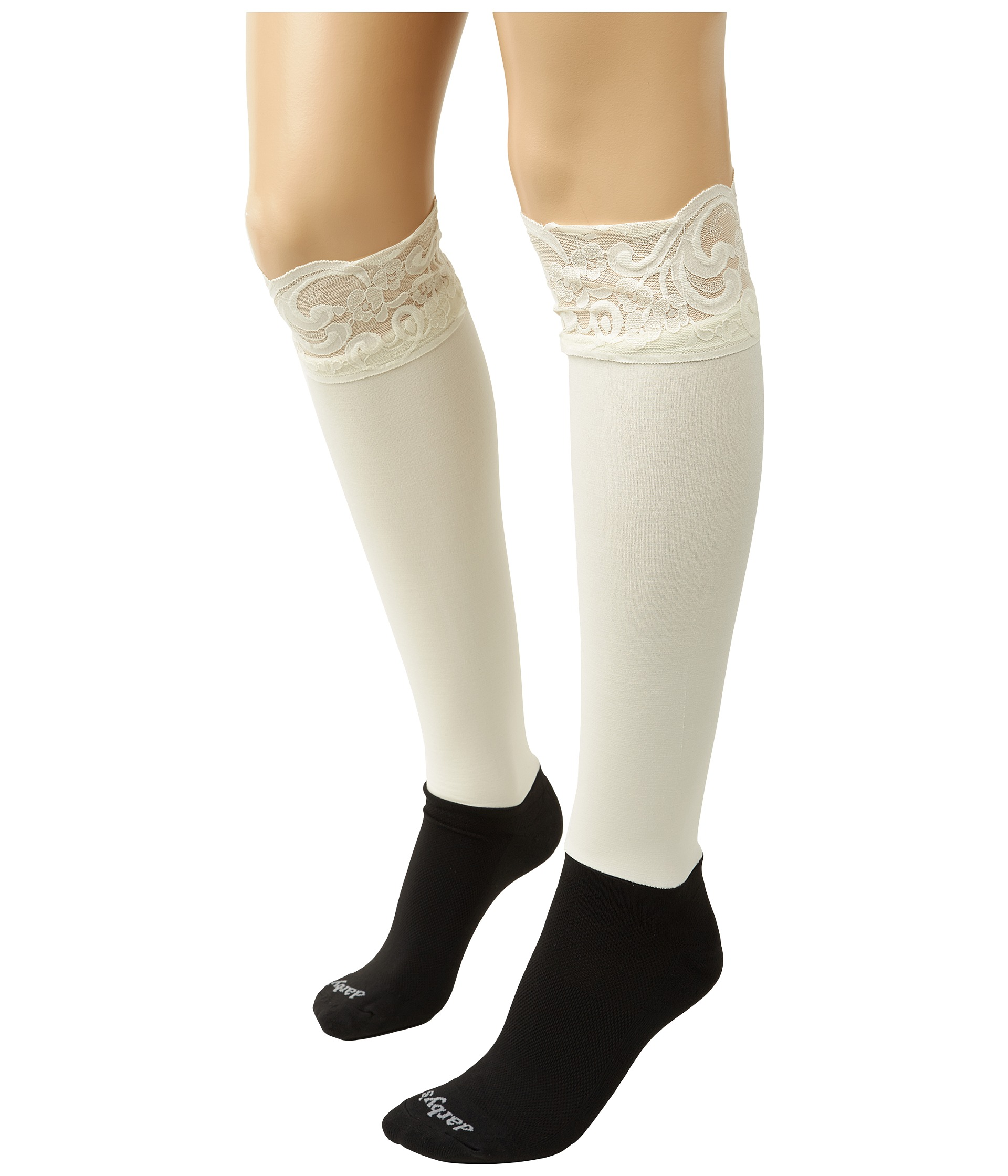bootights lace darby knee high ankle sock zappos