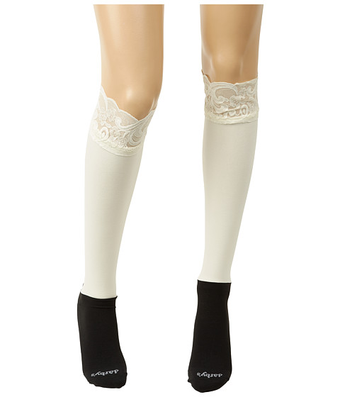 BOOTIGHTS Lacie Lace Darby Knee High/Ankle Sock