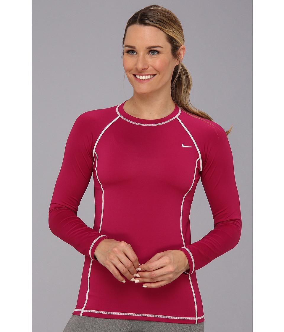 Nike Rashguard NESS4301 (Bright Magenta) Women's Swimwear