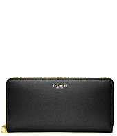 COACH - Accordian Zip Wallet In Saffiano Leather