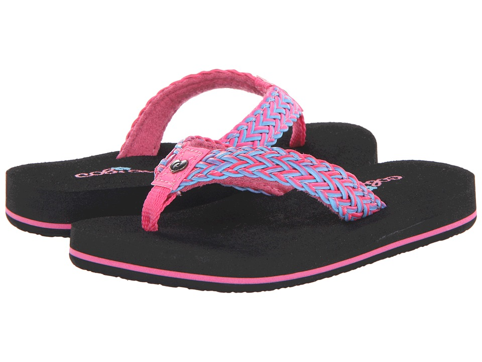 Cobian - Lil Lalati (Toddler/Little Kid/Big Kid) (Pink) Womens Sandals