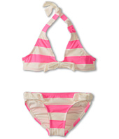 Juicy Couture Kids - Sixties Stripe Halter Top w/ Side Tie Classic Bottom (Toddler/Little Kids/Big Kids)
