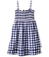 Juicy Couture Kids - Gingham Style Cover-Up Dress w/ Ruffle (Toddler/Little Kids/Big Kids)