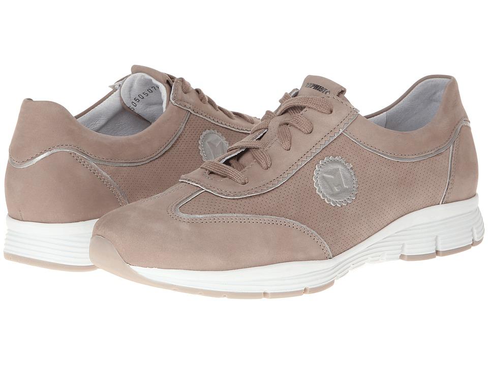 Mephisto - Yamina (Warm Grey Bucksoft/Silver Per Calfskin) Womens Shoes