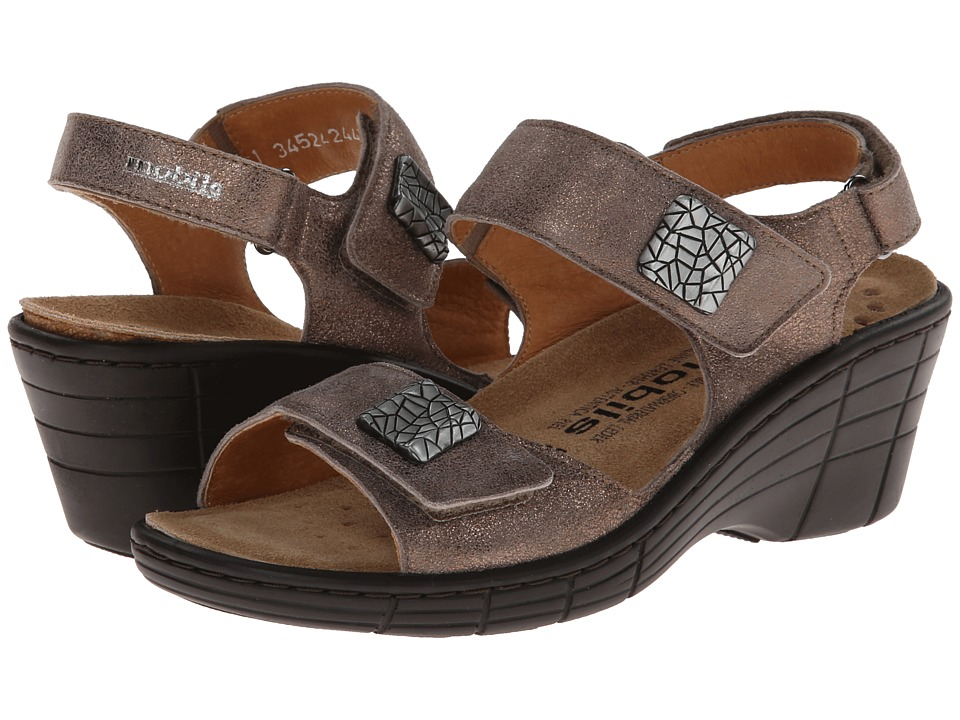 Mephisto - Maryse (Dark Taupe Fashion) Women's Sandals