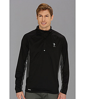 U.S. POLO ASSN. - Cage Mesh 1/4 Zip Active Top