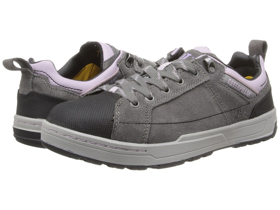 Caterpillar Brode ST Dark Gull Grey/Sea Fog Womens Industrial Shoes