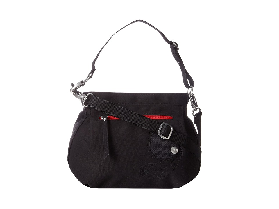 Haiku Bucket Bag Black Cross Body Handbags