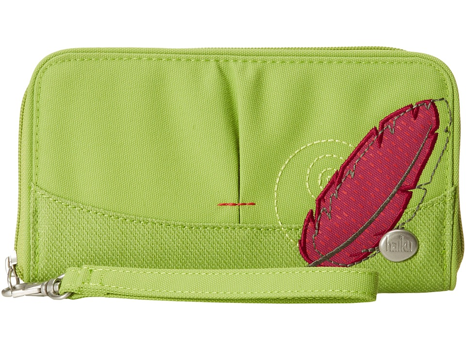 Haiku - Zip Wallet (Apple Green) Wallet Handbags