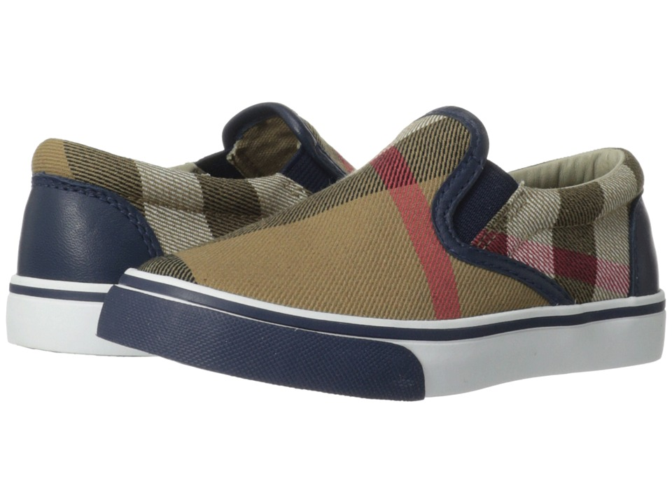 Burberry Kids - I1-Linus Core (Infant/Toddler) (Navy) Boys Shoes