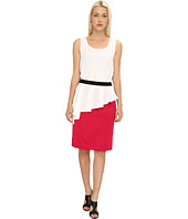 LOVE Moschino - Sleeveless Dress With Pink Skirt
