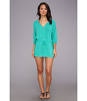 Vix - Solid Adriana Caftan Cover Up