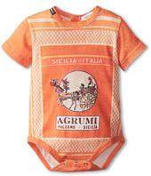 Dolce & Gabbana Kids - Orange Map One-Piece (Infant)